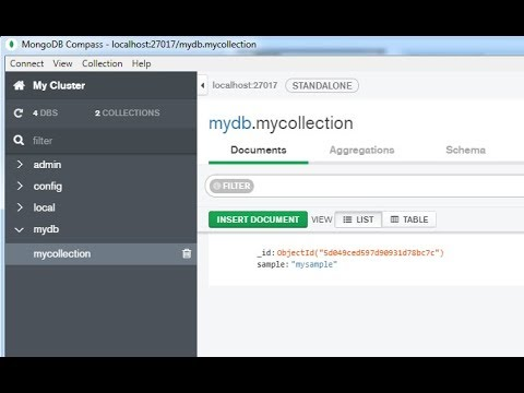 MongoDB Compass - Install software application for managing and viewing  mongoDB data