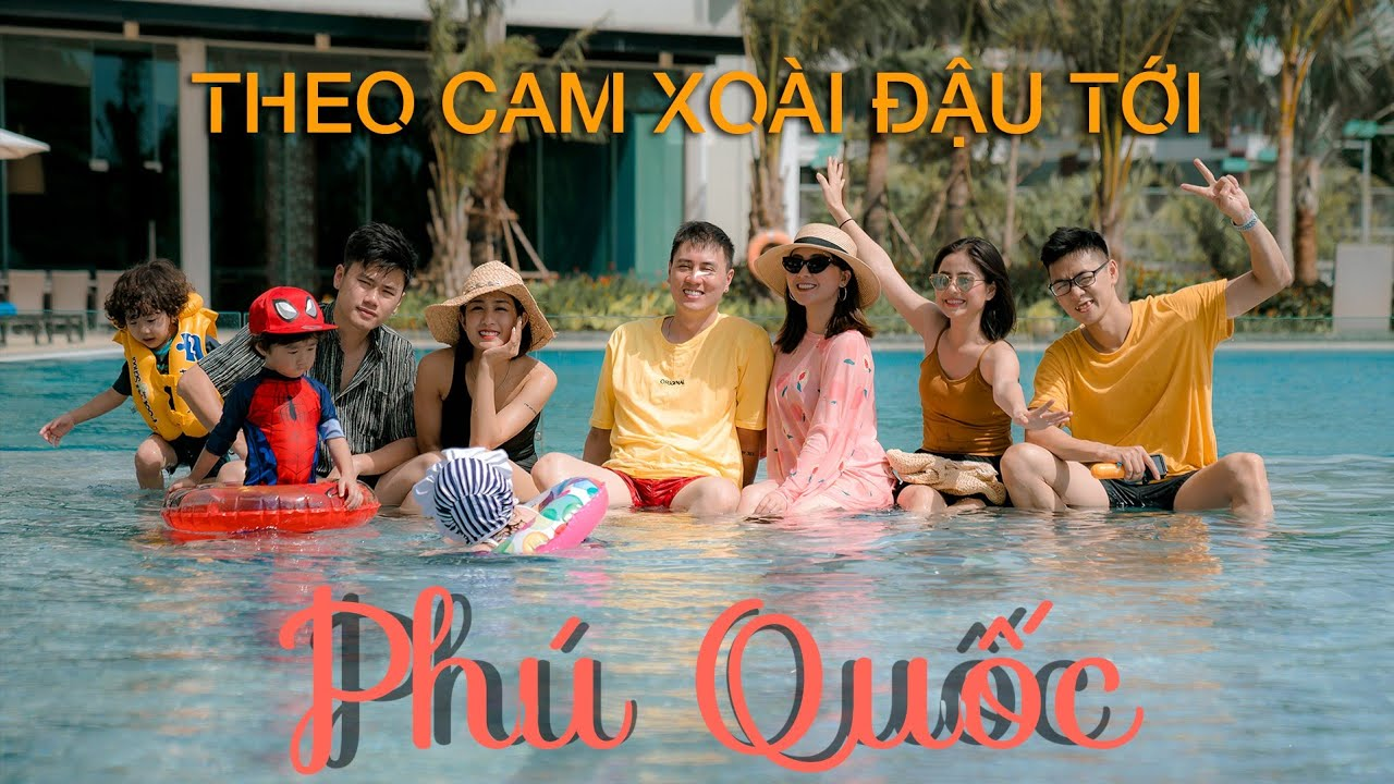 """Vlog 14   Cam Xoài Đậu """"Phá Đảo"""" Phú Quốc   Chơi Gì Cùng Bé Khi Đi Du Lịch?   Chuyện Vi Vu"""