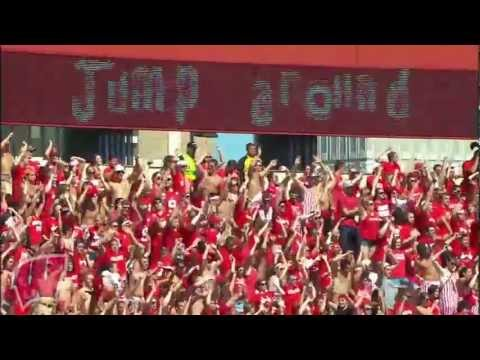 Jump Around At Camp Randall Stadium Youtube