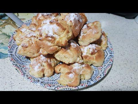receta-dulce-con-manzana,-desayuno-o-merienda-حلوة-التفاح-سهلة-وسريعة