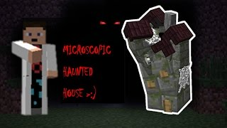 Minecraft | A Miniature Haunted House !?!?! | One Command Creations