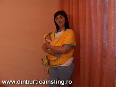 Utilizare Wrap Pentru Bebe De 0-3 Luni