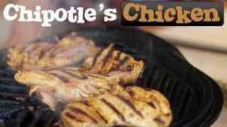 Chipotle's Marinated Chicken - Spicy - Clone Recipe
