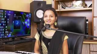 Mera Mulk Mera Desh | Seema Mane sing on karaoke track