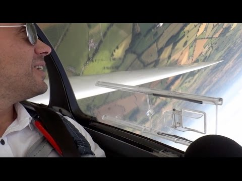 A glider flight over South Leicestershire.