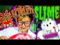 MAKING SLIME with Mad Scarlett and Angus McHoots the Owl