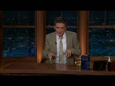 Late Late Show with Craig Ferguson 1/10/2011 Roseanne Barr; Joe Theismann