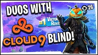 Hysteria | Fortnite Battle Royale - Duos with Cloud9 Blind - Practice for TwitchCon!