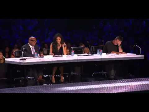 THE X FACTOR- Geo Godly Exposes himself and makes paula Sick