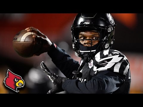 Lamar Jackson: 153 Rush Yards, TD In Comeback Win Over Wake Forest