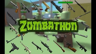 Roblox Zombathon - Short APK gameplay (THIS THING IS OP!)