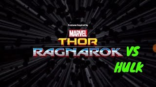 Thor Ragnarok | Gameplay vs Hulk Marvel Future Fight