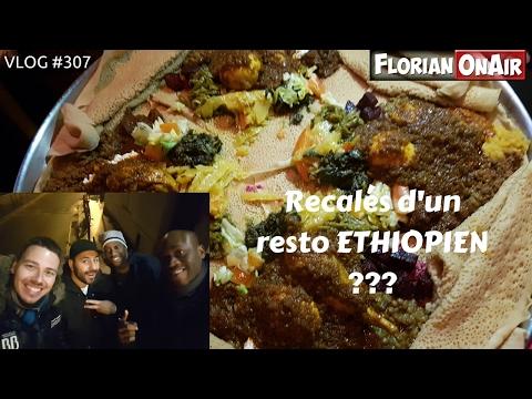 Au resto ETHIOPIEN, on mange avec les mains ! - VLOG #307