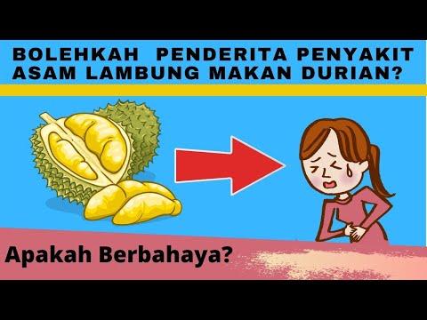 Bahayakah Penderita Penyakit Asam Lambung Makan Durian?