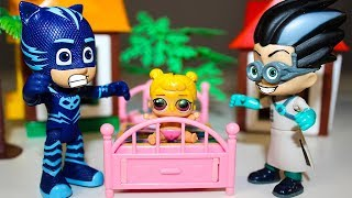 Мультики для детей Кукла ЛОЛ против Ромео Герои в масках Мультфильмы Видео для детей