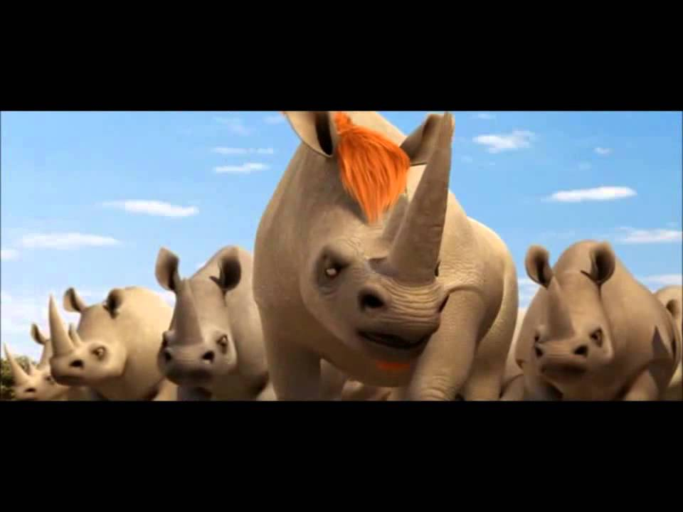 Animals united billy sfida i bufali e i rinoceronti youtube