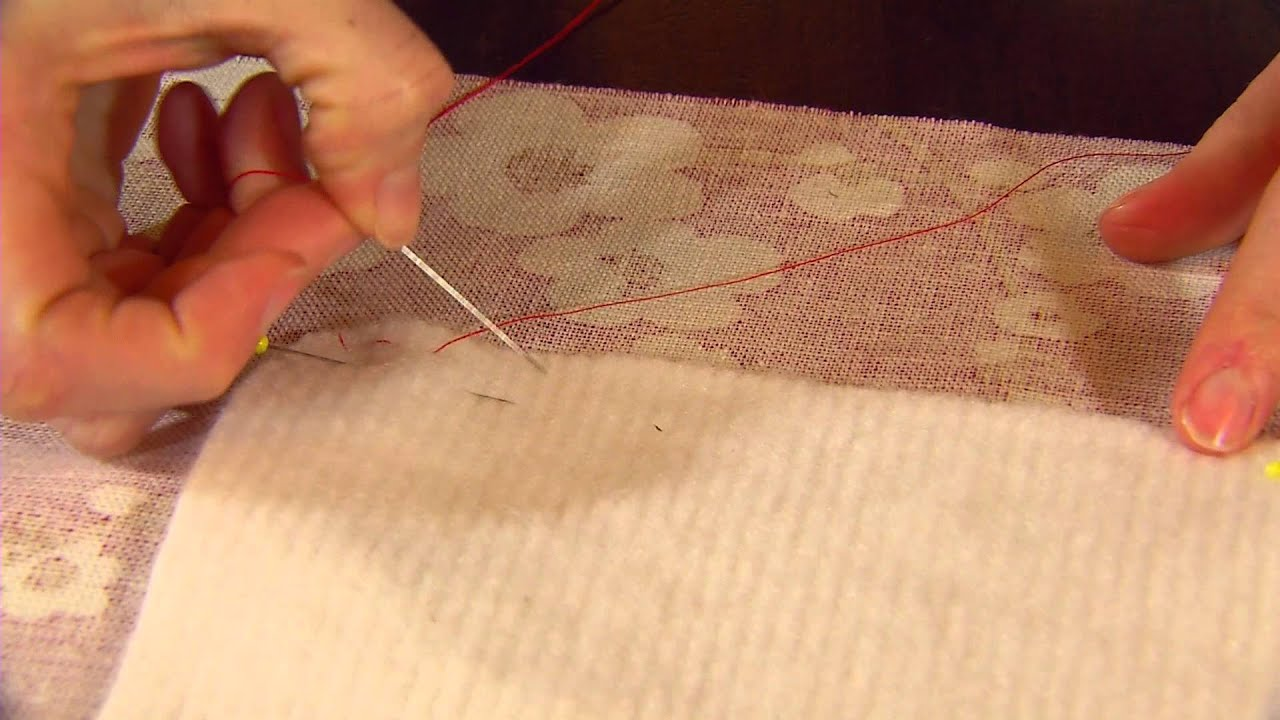 How To Make Thermally Lined Curtains   Part 2 Of 5   National Trust