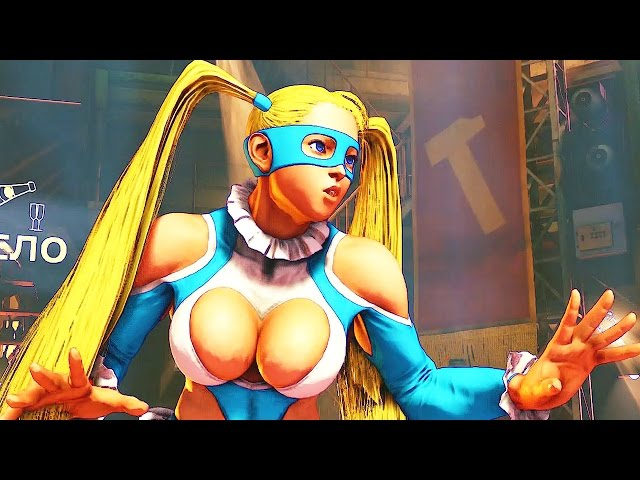 História da Rainbow Mika: Street Fighter V - Playstation 4 gameplay