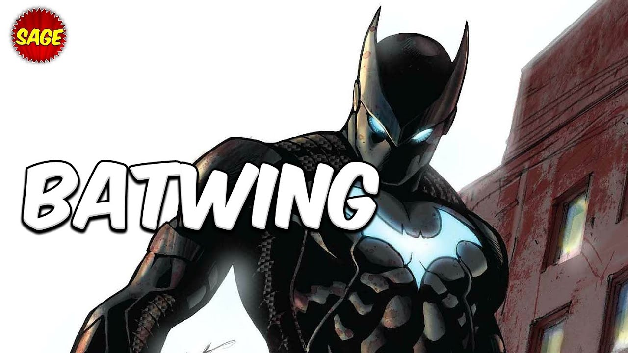 Who is DC Comics Batwing? High-Tech