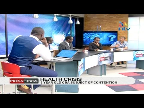 Press Pass: Who's to blame for the crippling doctors and nurses strike?
