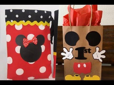 Recuerdos de mickey mouse para fiestas infanties