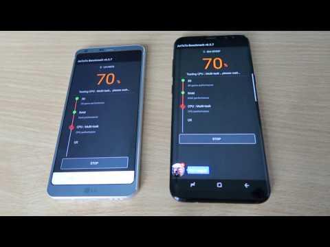 Samsung Galaxy S8 kontra LG G6 - pojedynek na Benchmark Antutu
