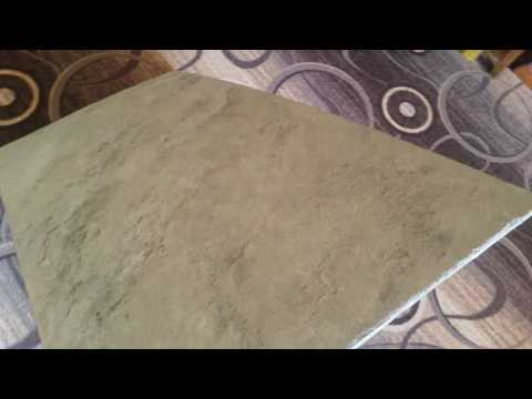 Каменный шпон своими руками, по технологии гибкий камень,на деревянную подложку