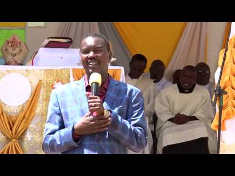 H E JACKSON MANDAGO'S FULL SPEECH DURING PRIESTLY ORDINATION AT SACRED HEART CATHEDRAL, ELDORET