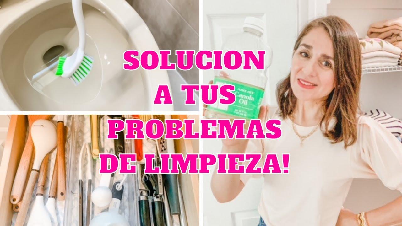 COMO SOLUCIONAR TUS PROBLEMAS DE LIMPIEZA! Tips de Experta en Limpieza