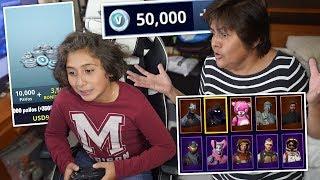 Niño Gasta $500 en FORTNITE con la Tarjeta de Credito de su Mamá... (TIENES QUE VERLO)