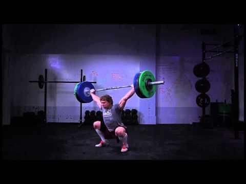CrossFit - Chad Vaughn, 285 pound Snatch poster