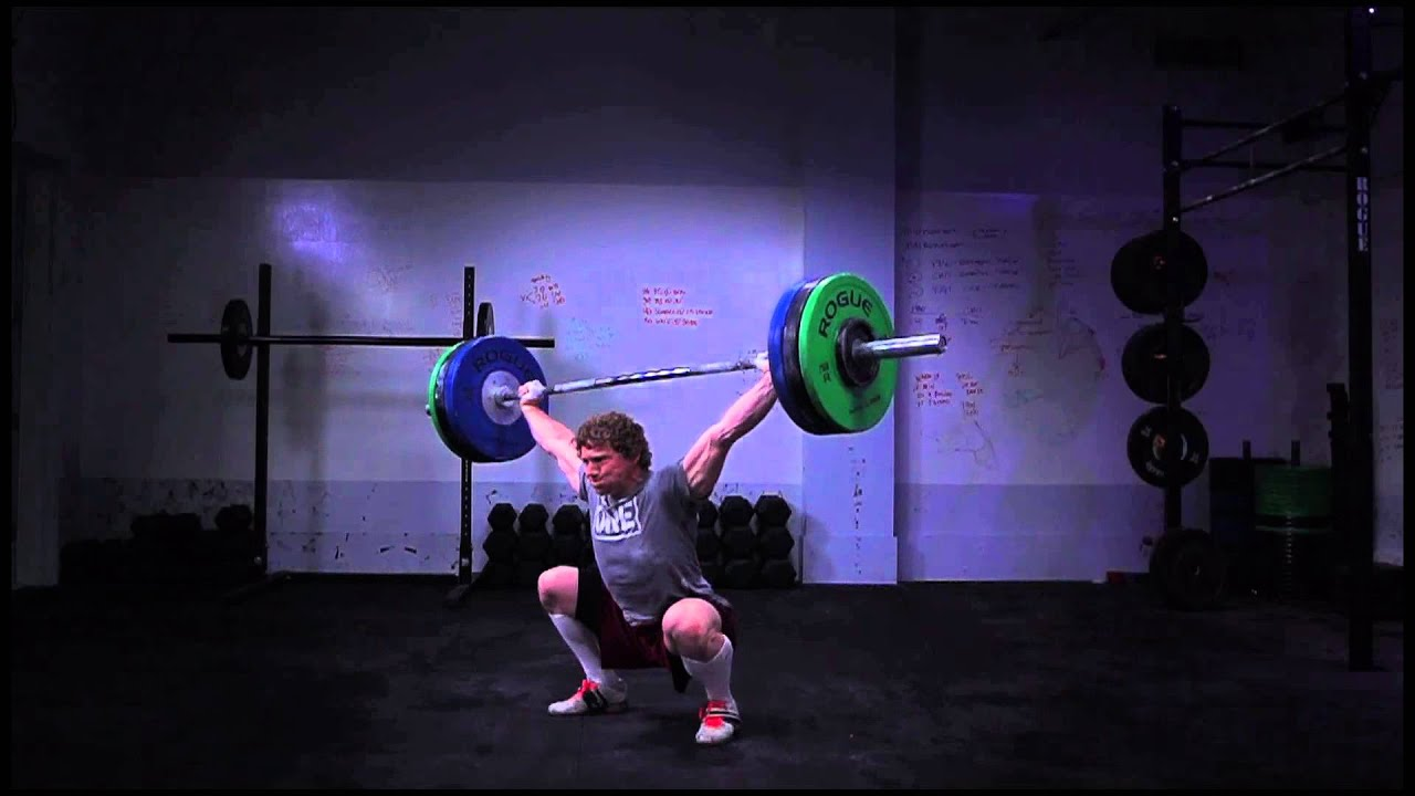 Chad Vaughn, 285 pound Snatch