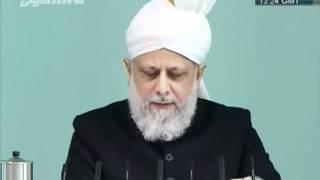French Friday Sermon 13th January 2012 - Islam Ahmadiyya