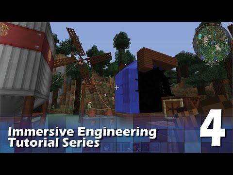 Immersive Engineering Tutorial #4 - Basic Power