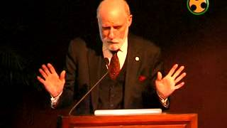 Chief Google Evangelist, Vinton G. Cerf speaking on The Future of the Internet at Jawahar Bhawan