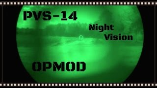 oPMOD PVS-14 Gen3 Multi Purpose Night Vision System Review (HD)