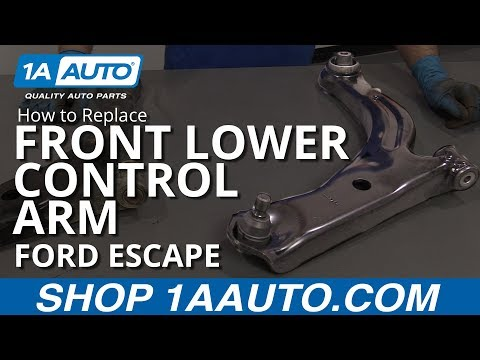 How to Replace Front Lower Control Arm 05-12 Ford Escape