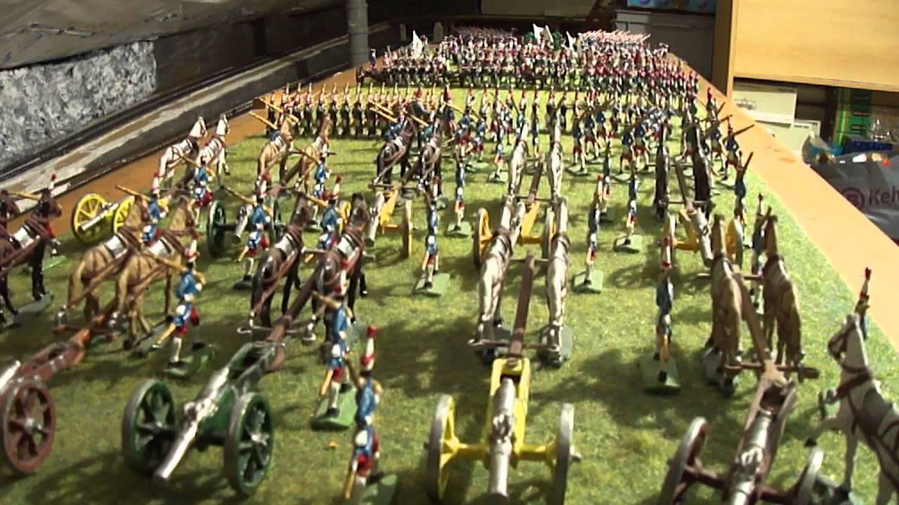 Diorama Zinnfiguren Siebenjhriger Krieg Teil 1