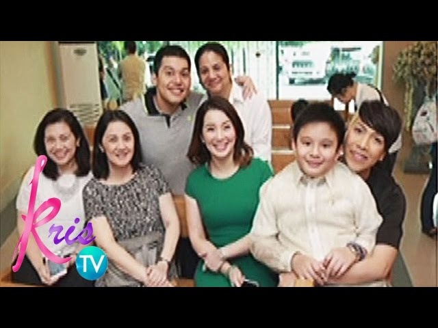 Kris TV: Bimby's first communion