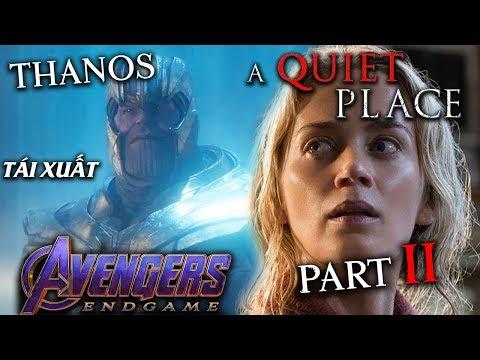Phê Phim News: AVENGERS: ENDGAME 1 PHÚT CẢNH MỚI!! | UPDATE về A QUIET PLACE phần 2!?