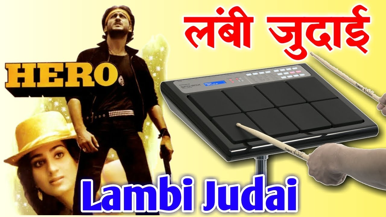 Hero Title Music Song - Lambi Judai | Octapad SPD 20 & SPD 20X New Patch Editing
