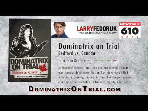 "Dominatrix Interview with Terri-Jean Bedford about her book ""Dominatrix on Trial"""