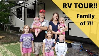 RV TOUR- Large Family of 7 Full Time RV Traveling