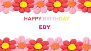 EdyFemale Birthday Postcards & Postales - Happy Birthday