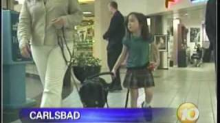 leash on life assistance dog program for children with disabilities kgtv channel 10 news