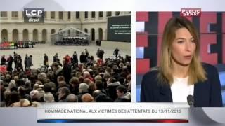 Evénements - Hommage national aux victimes des attentats