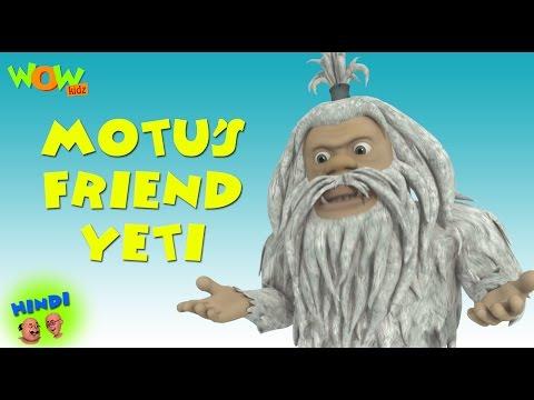 Motu's Friend Yeti - Motu Patlu in Hindi...
