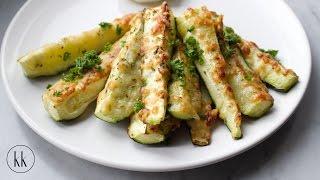 Gebackene Zucchini Sticks - Rezept [Kochklub]