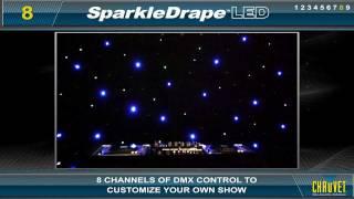 SparkleDrape LED by CHAUVET
