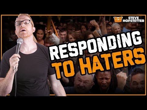 Savage responses to mean hatemail - People Who Hate Me Supercut (Steve Hofstetter)